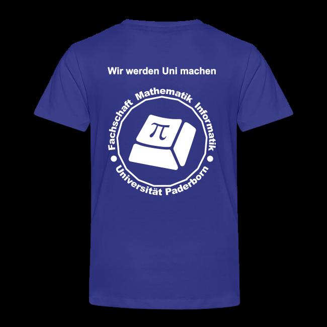 T-Shirt - Kinder - Weißes Logo