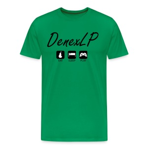 T-Shirt - DenexLP - Eat Sleep Play - Männer Premium T-Shirt