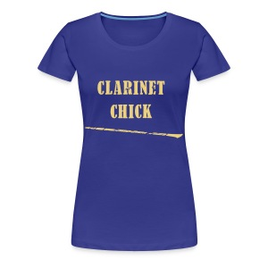 Clarinet Chick - Women's Premium T-Shirt