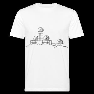 Teufelsberg (Abhörstation) - Männer Bio-T-Shirt