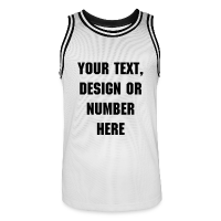 Men's Basketball Jersey with design