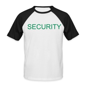 security - Männer Baseball-T-Shirt