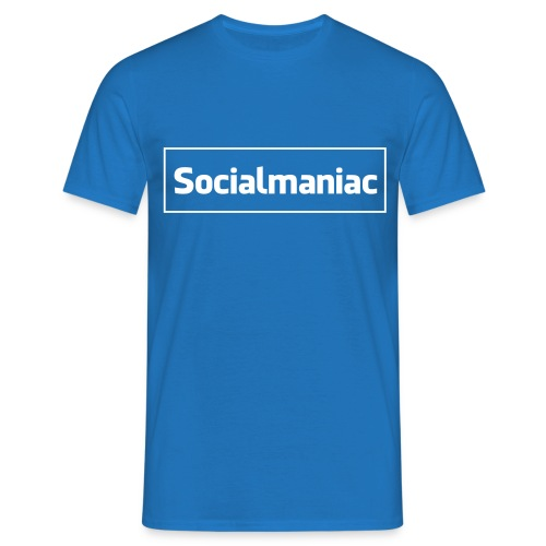 Socialmaniac - Männer T-Shirt