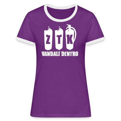 ZTK Contrast T-Shirt - Women's Ringer T-Shirt