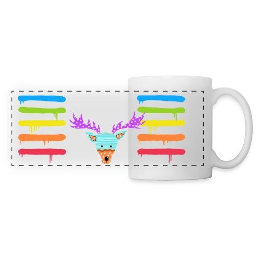 Custom Painter Reindeer - Panoramic Mug