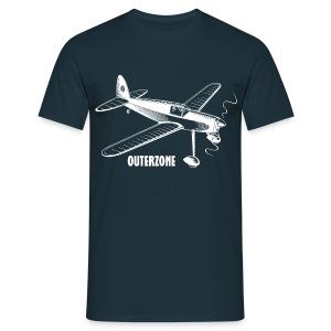 Outerzone t-shirt, white logo - Men's T-Shirt
