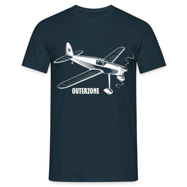 Outerzone t-shirt, white logo