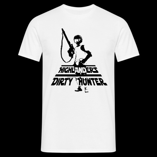 Highlander's Dirty Hunter Blanc - T-shirt Homme