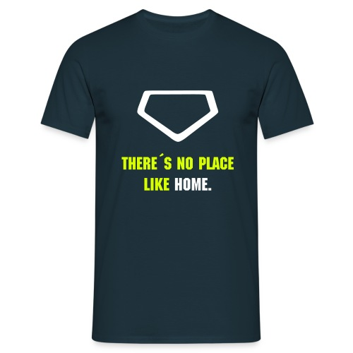 Baseball Shirt There´s no place like home - Men's T-Shirt