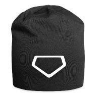 Caps & Hats ~ Jersey Beanie ~ Beanie with stylized homeplate