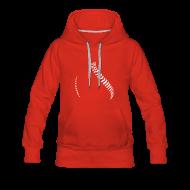 Hoodies & Sweatshirts ~ Women's Premium Hoodie ~ Women´s Baseball Hoodie