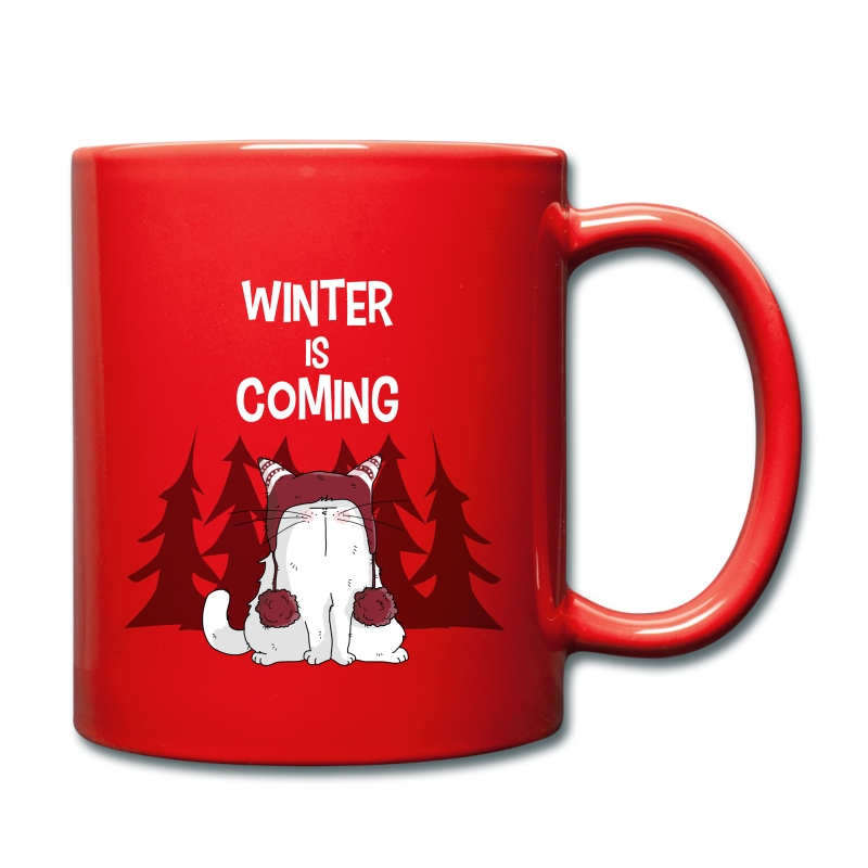 Mrou le chat Winter is coming - Mug uni