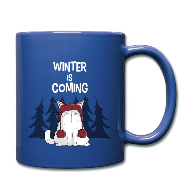 Mrou le chat Winter is coming