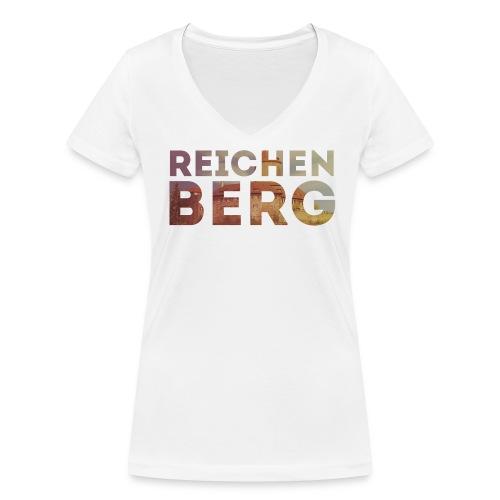 WeLoveOppes | Reichenberg Typo | Frauen Shirt V-Ausschnitt - Frauen Bio-T-Shirt mit V-Ausschnitt von Stanley & Stella