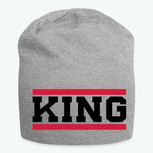 Jersey Beanie - Our donators are kings for us. All profit goes to our charity Light of Love e.V. So it's simple to be a king #beaking