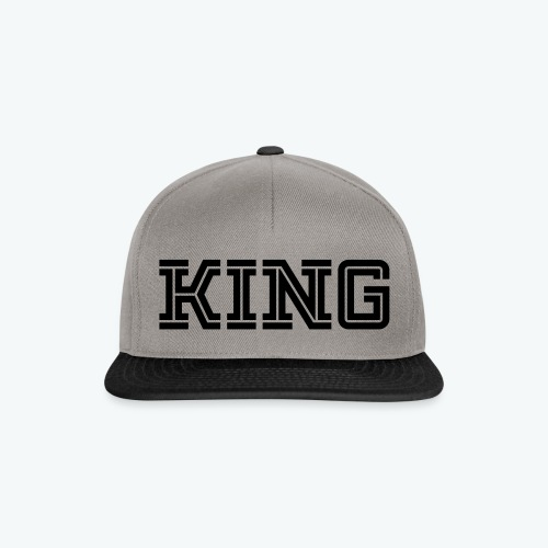 Snapback Cap - Our donators are kings for us. All profit goes to our charity Light of Love e.V. So it's simple to be a king #beaking