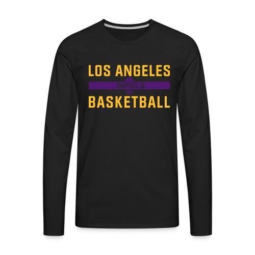 Los Angeles Basketball Longsleeve - Männer Premium Langarmshirt