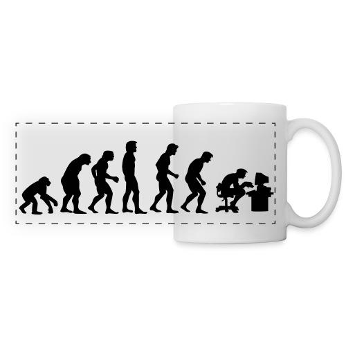 Tasse Geek  - Mug panoramique contrasté et blanc