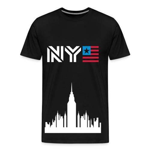 NY - T-shirt Premium Homme