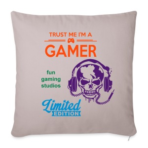 [limited edition] fun gaming studios pilow - Sofa pillow cover 44 x 44 cm
