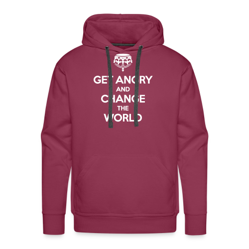 Get angry and change the world Hoodie - Männer Premium Hoodie