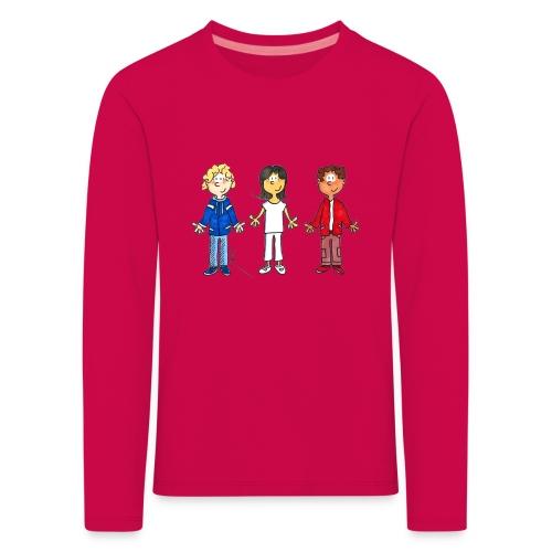 enfants tricolores - T-shirt manches longues Premium Enfant
