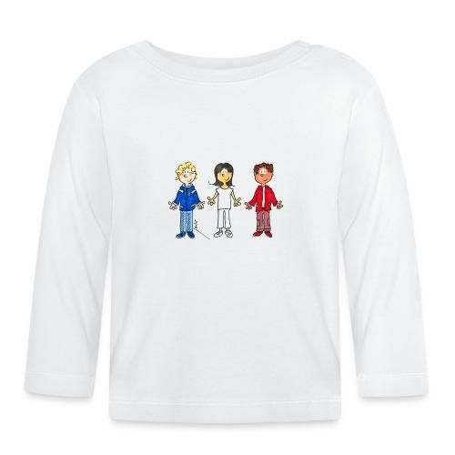 enfants tricolores - T-shirt manches longues Bébé