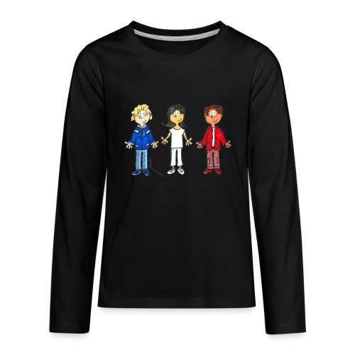 enfants tricolores - T-shirt manches longues Premium Ado