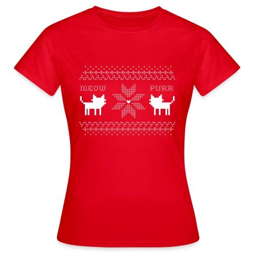 Christmas Cats - Camiseta mujer