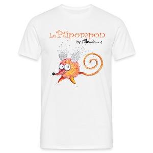 Tee-shirt homme Ptipompon-sillousoune - T-shirt Homme