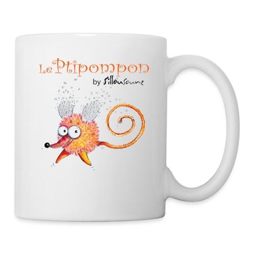 Mug Ptipompon-Sillousoune - Mug blanc
