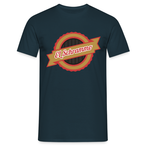 EL Schrammo Retro  - Männer T-Shirt