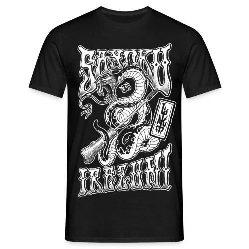 Tebori Irezumi Snake - Männer T-Shirt