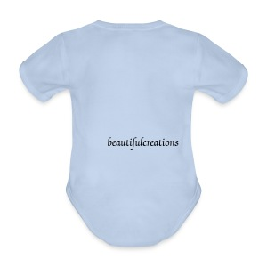 beautifulcreations Baby Bodysuit - Organic Short-sleeved Baby Bodysuit