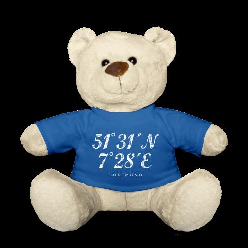 Dortmund Koordinaten Teddy (Distressed Weiß) - Teddy
