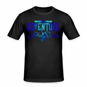 Adventure Tattoo Ice...Men's Slim Fit T-Shirt - Men's Slim Fit T-Shirt