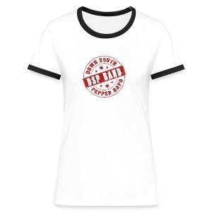 DSP band t-skjorte for damer - Women's Ringer T-Shirt