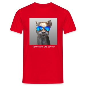 Panther-Coolness - Männer T-Shirt