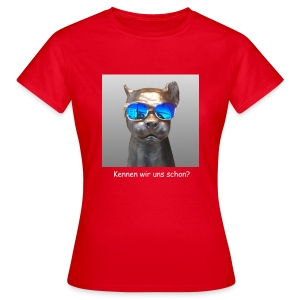 Panther-Coolness - Frauen T-Shirt