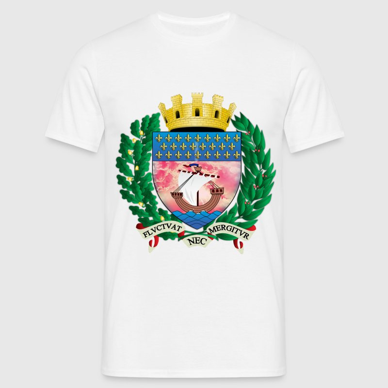 ancient coat of arms of the city of paris - Men's T-Shirt