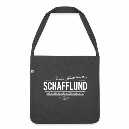 Schafflund - Recyling-Tasche - Schultertasche aus Recycling-Material