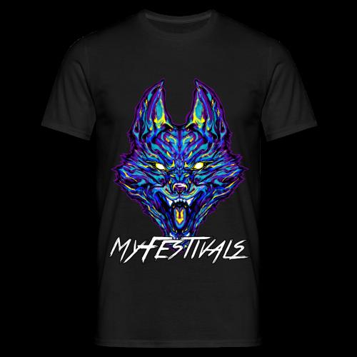 MyFestivals nur vorne - Männer T-Shirt
