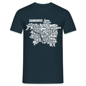Hannover Shirt Navy - Male - Männer T-Shirt
