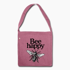 Bee Happy recycling bag