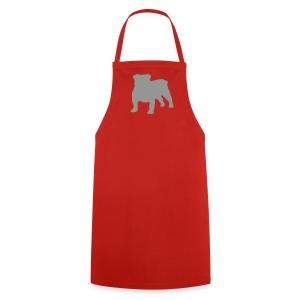 Silhouette Bulldog - Tablier de cuisine