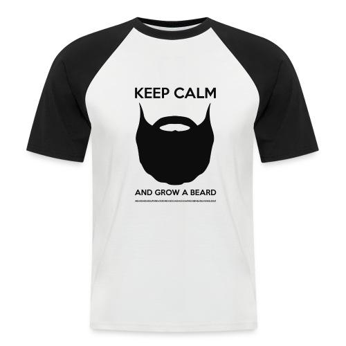 KEEP CALM BASEBALL - T-shirt baseball manches courtes Homme
