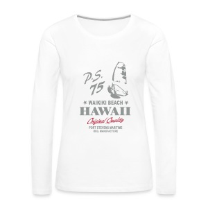Hawaii Windsurfing - Women's Premium Longsleeve Shirt