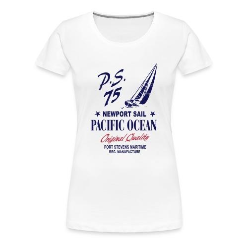 Pacific Ocean Sail T-Shirt - Frauen Premium T-Shirt