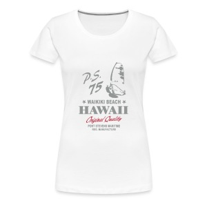 Hawaii Windsurfing - Women's Premium T-Shirt