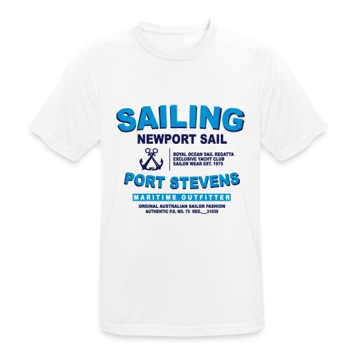 Newport Sail - Men's Breathable T-Shirt
